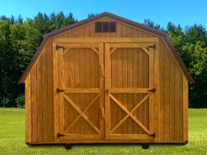 Standard 10' Barn w/Double Doors