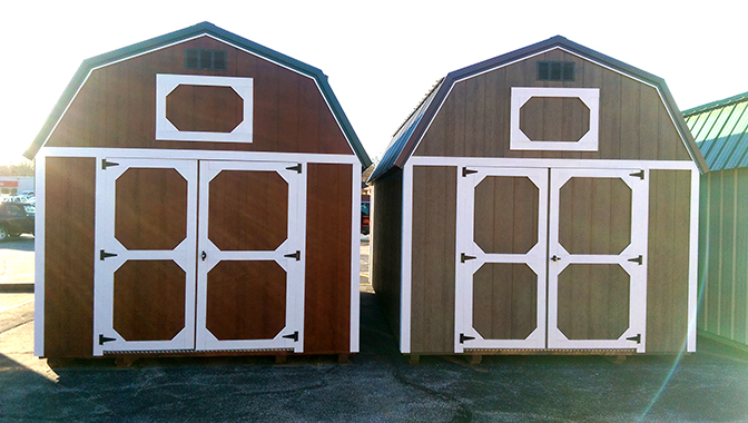 Urethane Stained Lofted Barn